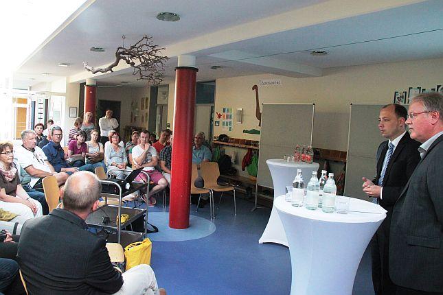 Wohnhaus für Flüchtlinge: Stadt informiert Bürgern über das Bauvorhaben