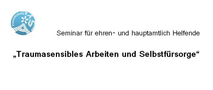 Seminar für ehren-und hauptamtlich Helfende