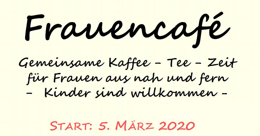 Frauencafé startet im Himmelreich