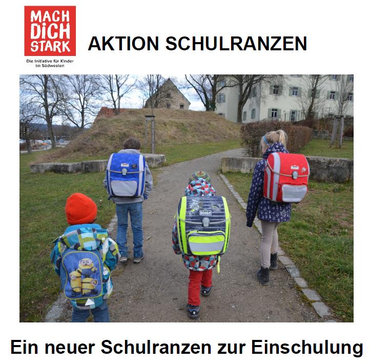 Aktion Schulranzen 2020
