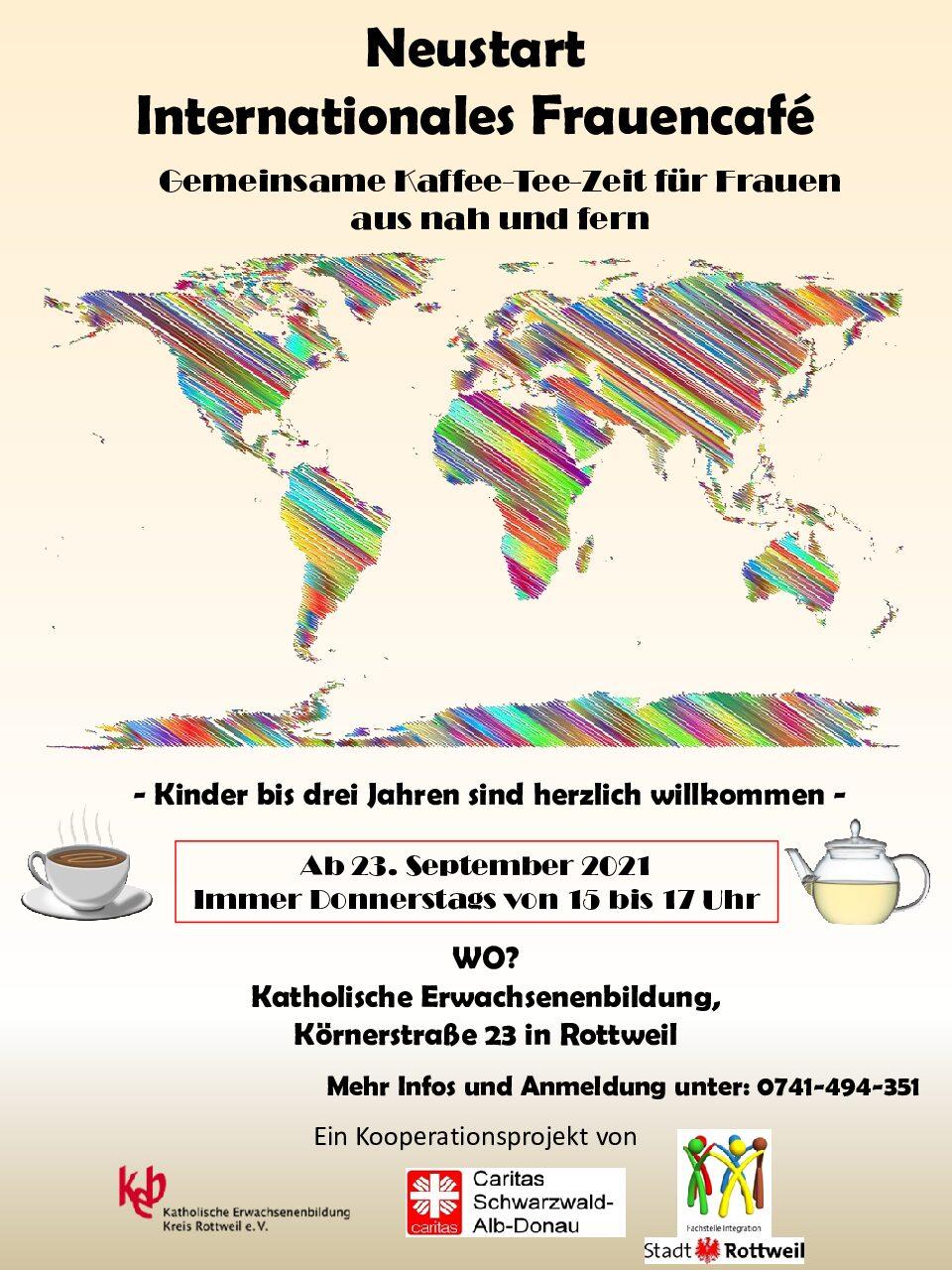 Neustart Internationales Frauencafé am 23.09.2021